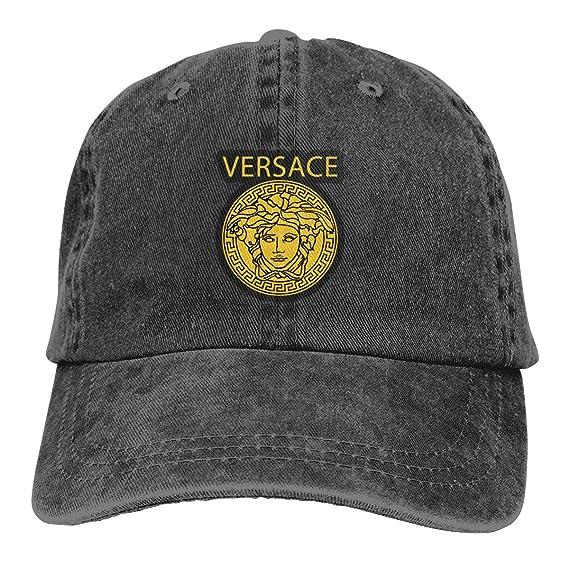 fc94faa9 Thorea Comfortable Versace-Logo-Emporio-Armani Giorgio Adjustable Cowboy Hat,  Adult Black: Amazon.ca: Clothing & Accessories