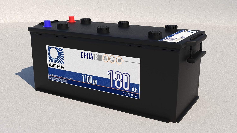 EPHA1800 Bateria 180 Ah 1100EN +IZQ
