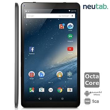 Amazon com : NeuTab 10 1 Inch Octa Core Android 5 1 Lollipop Tablet
