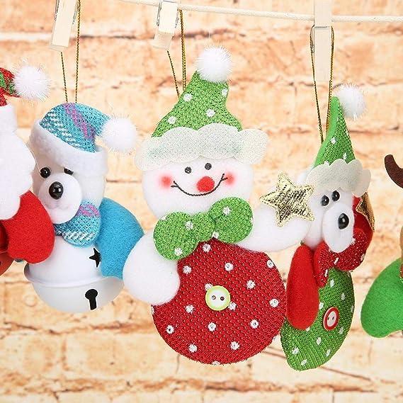 Bricolaje Bandera de Clip Linda Navidad a/ño Fiesta decoraci/ón Broadroot Navidad Colgando pancartas