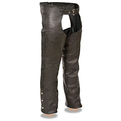 Milwaukee Leather Men/'s Fully Lined Classic Motorcycle Chaps  **SH1115