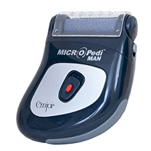 Micro Pedi Man - Rapid Hard Dry Rough Skin Remover for the Feet - Electric Pedicure