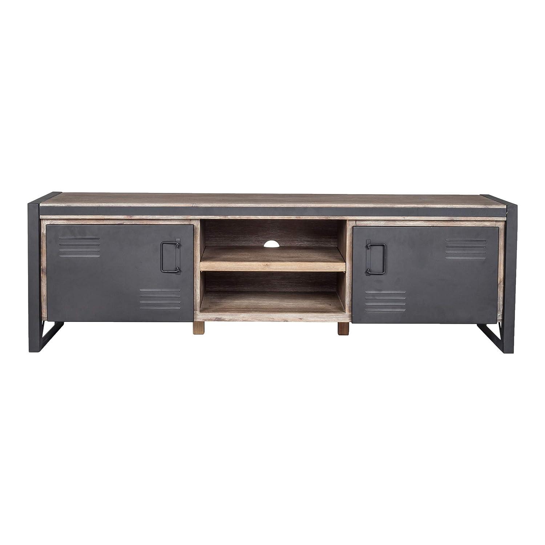 Amazon com world mod vx 1011 21 solid wood metal acacia veneer mdf kitchen dining