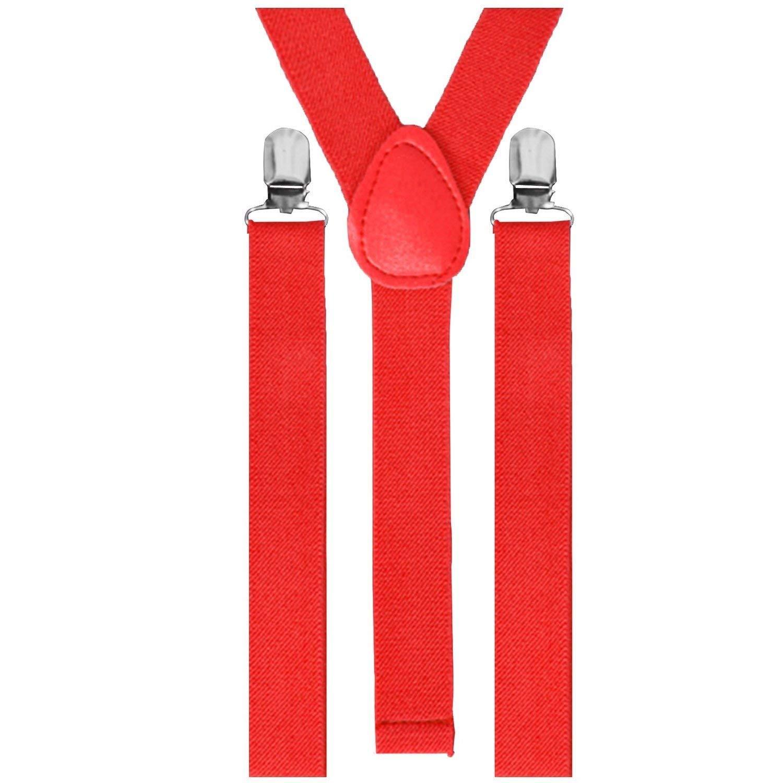 Hosenträger Gummiband 3er Clips Anzug Unisex Hose Träger Clip Verstellbar SHOMPF3274