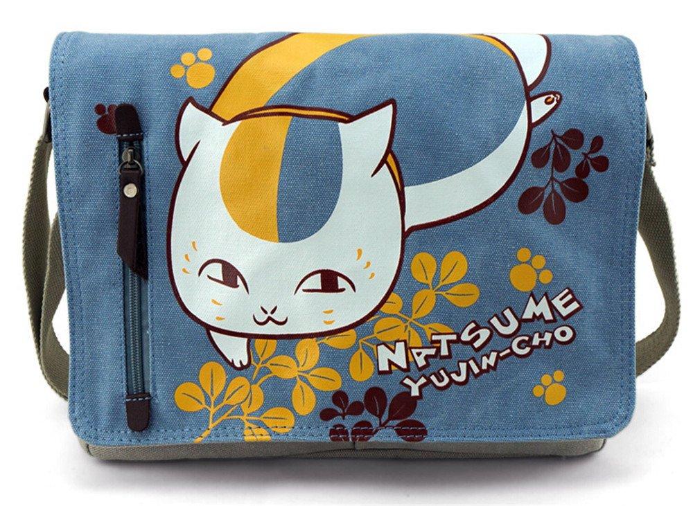 070f9b650314 best Siawasey Japanese Anime Cosplay Canvas Backpack Messenger Bag School  Shoulder Bag