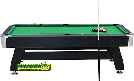 MASGAMES Billar Deluxe 7ft: Amazon.es: Juguetes y juegos