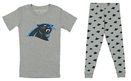 6f43c6e2c Outerstuff NFL Little and Big Boy s Short Sleeve Tee and Pant Sleep Set