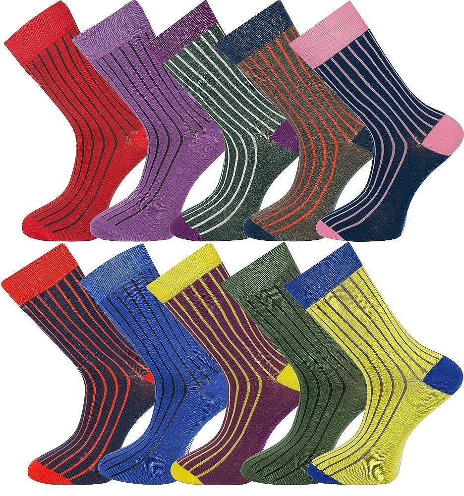 MySocks caviglia calzini Multi design Cotone pettinato extra puro CMMribbed02p