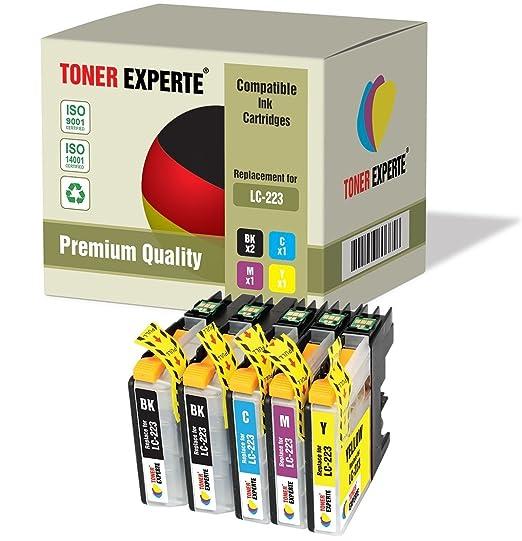 16 opinioni per Kit 5 XL TONER EXPERTE® LC223 Cartucce