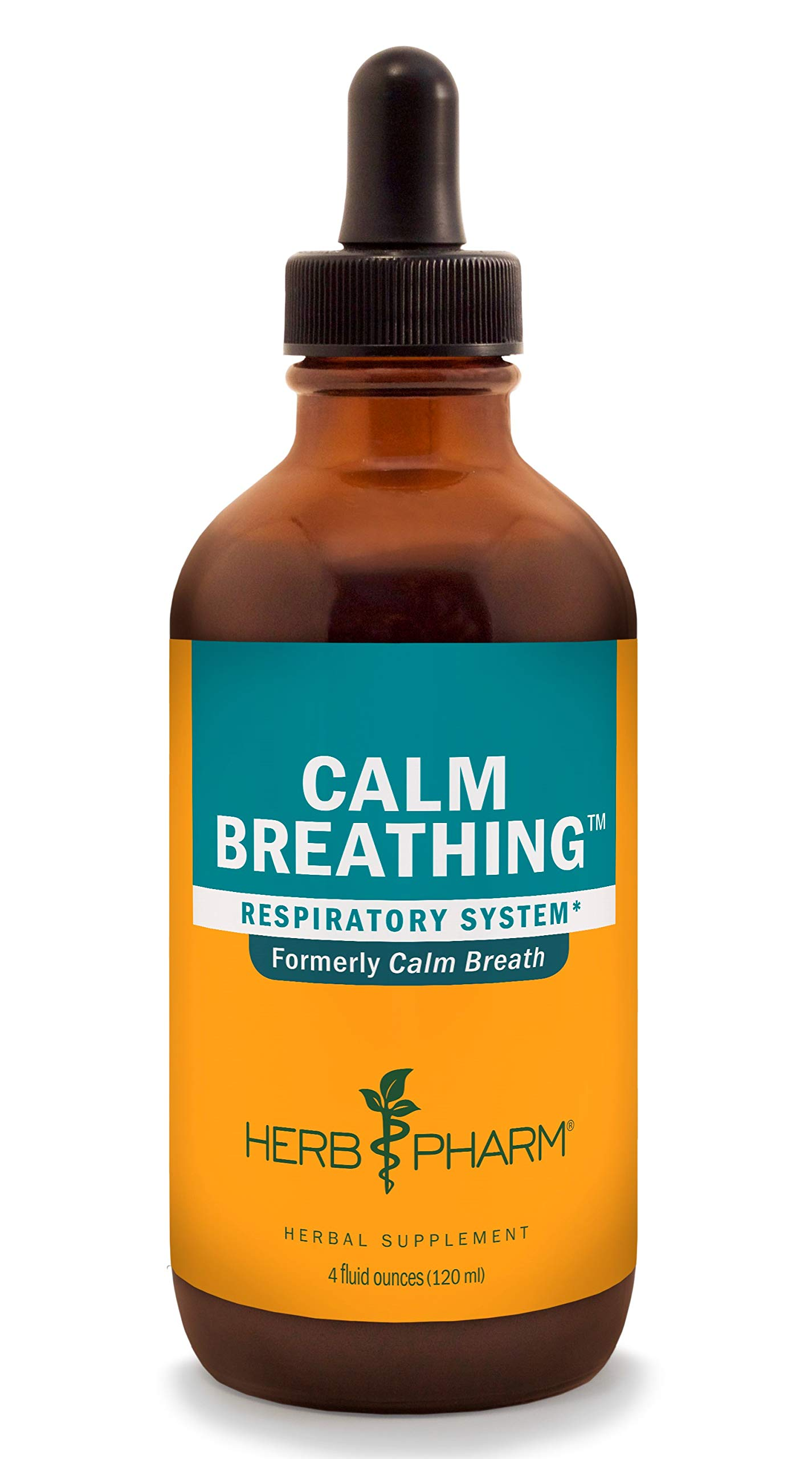 Herb Pharm Calm Breathing Liquid Formula for Respiratory Support - 4 Ounce