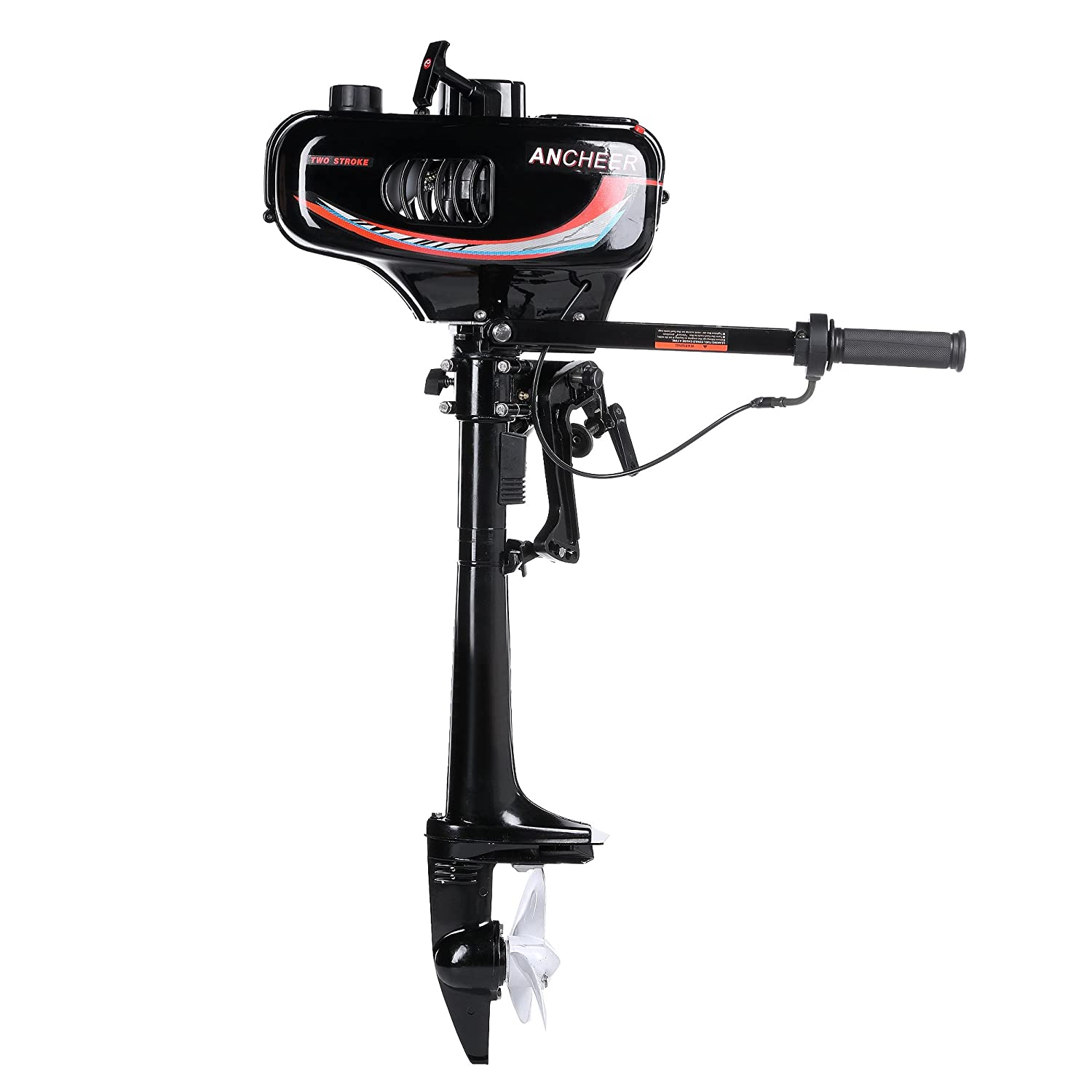 ANCHEER 3 5 HP 2-Stroke Ship Outboard Motor Inflatable
