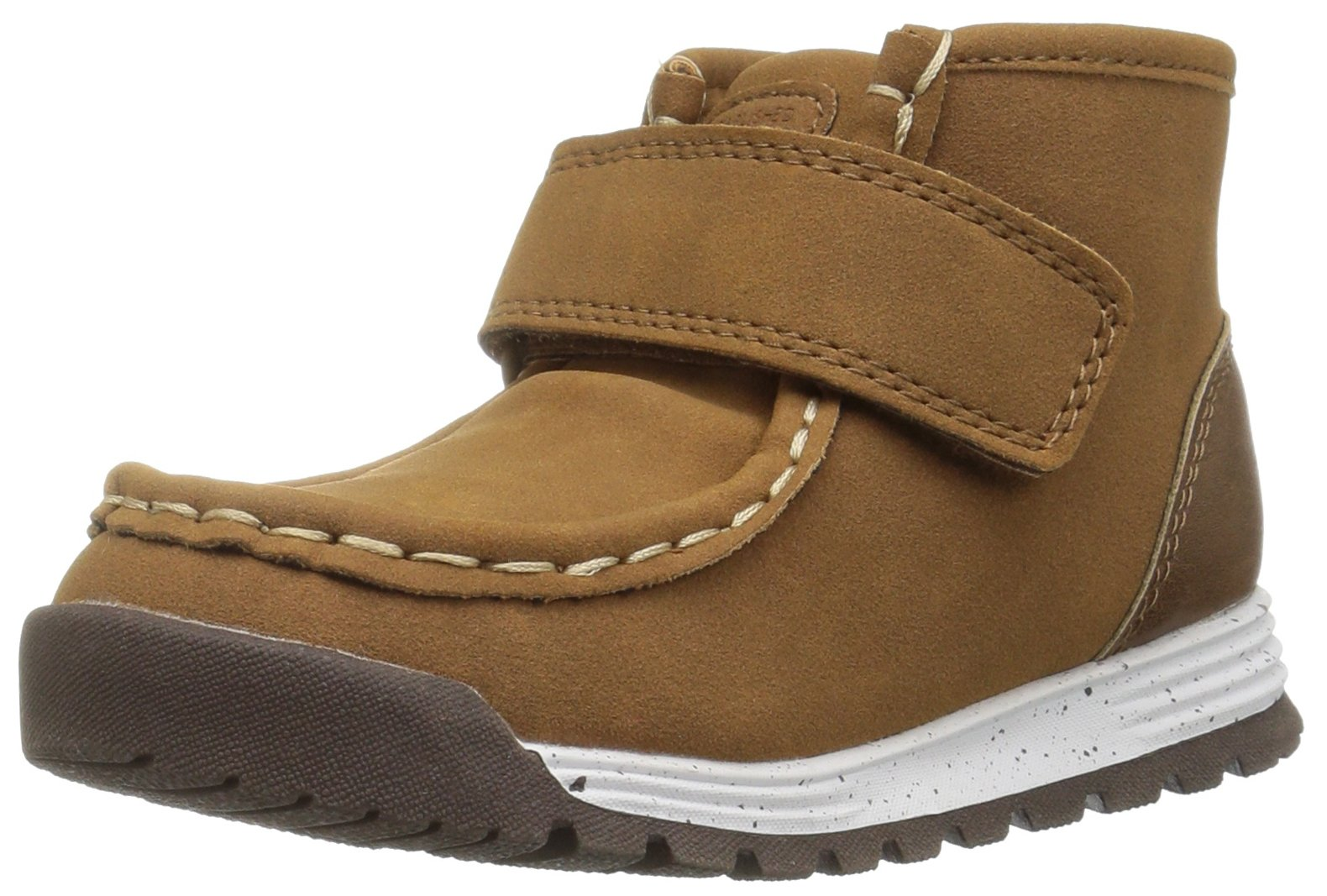 Carter's Boys' AX Fashion Boot, Brown, 11 M US Little Kid
