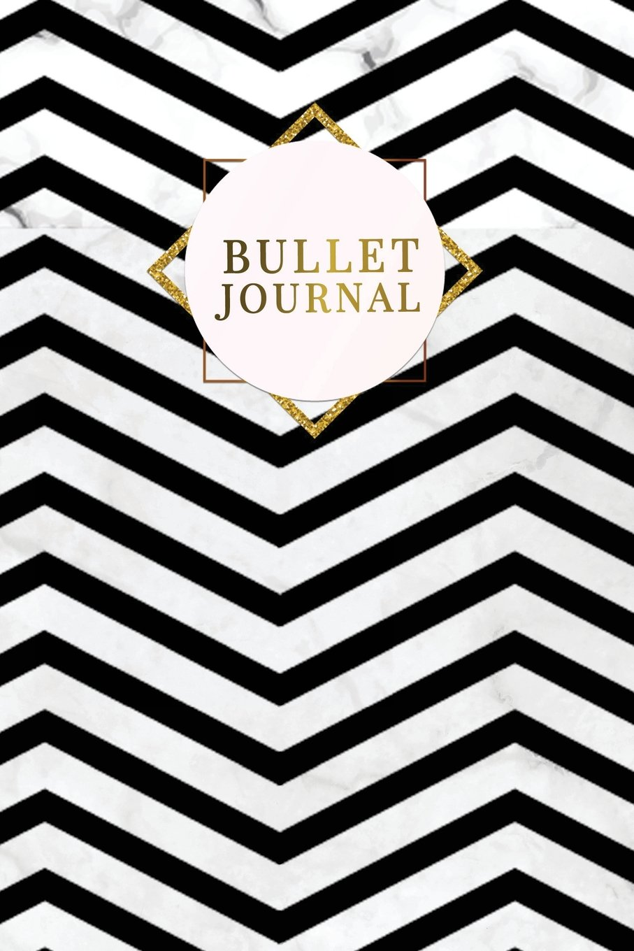 Bullet Journal: Marble + Gold Bullet Journal  120-Page 1/2 Inch Dot Grid Notebook  6 X 9 Marble & Gold Perfect Bound Softcover (Marble & Gold Bullet Journals) PDF