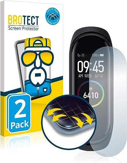 BROTECT Protector Pantalla Completa Compatible con Xiaomi Mi Band 4 (2 Unidades) 3D Curvo: Amazon.es: Electrónica