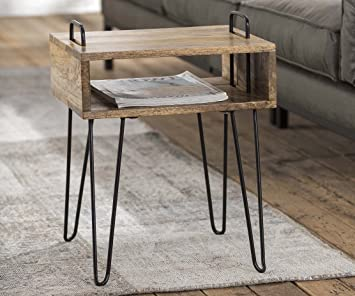 Table de Nuit ou d\'appoint Design Industriel Kingston avec ...