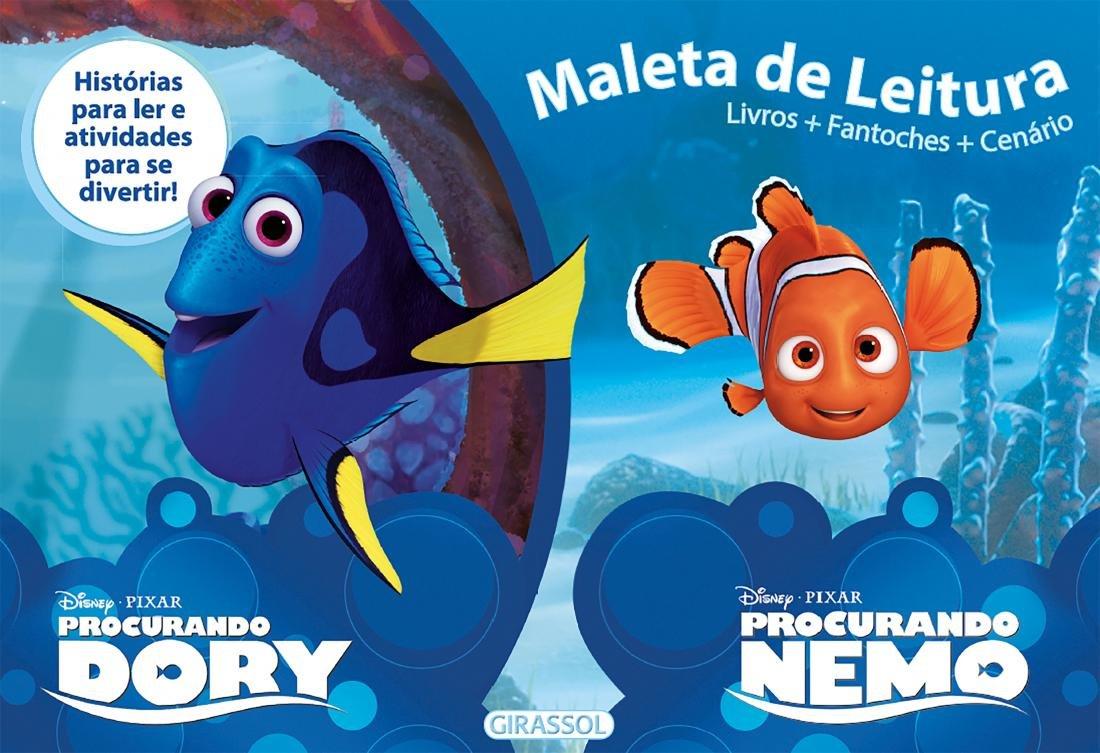 Procurando Dory e Procurando Nemo - Coleção Disney. Caixa Maleta de Leitura (Portuguese Brazilian) Paperback – 2017