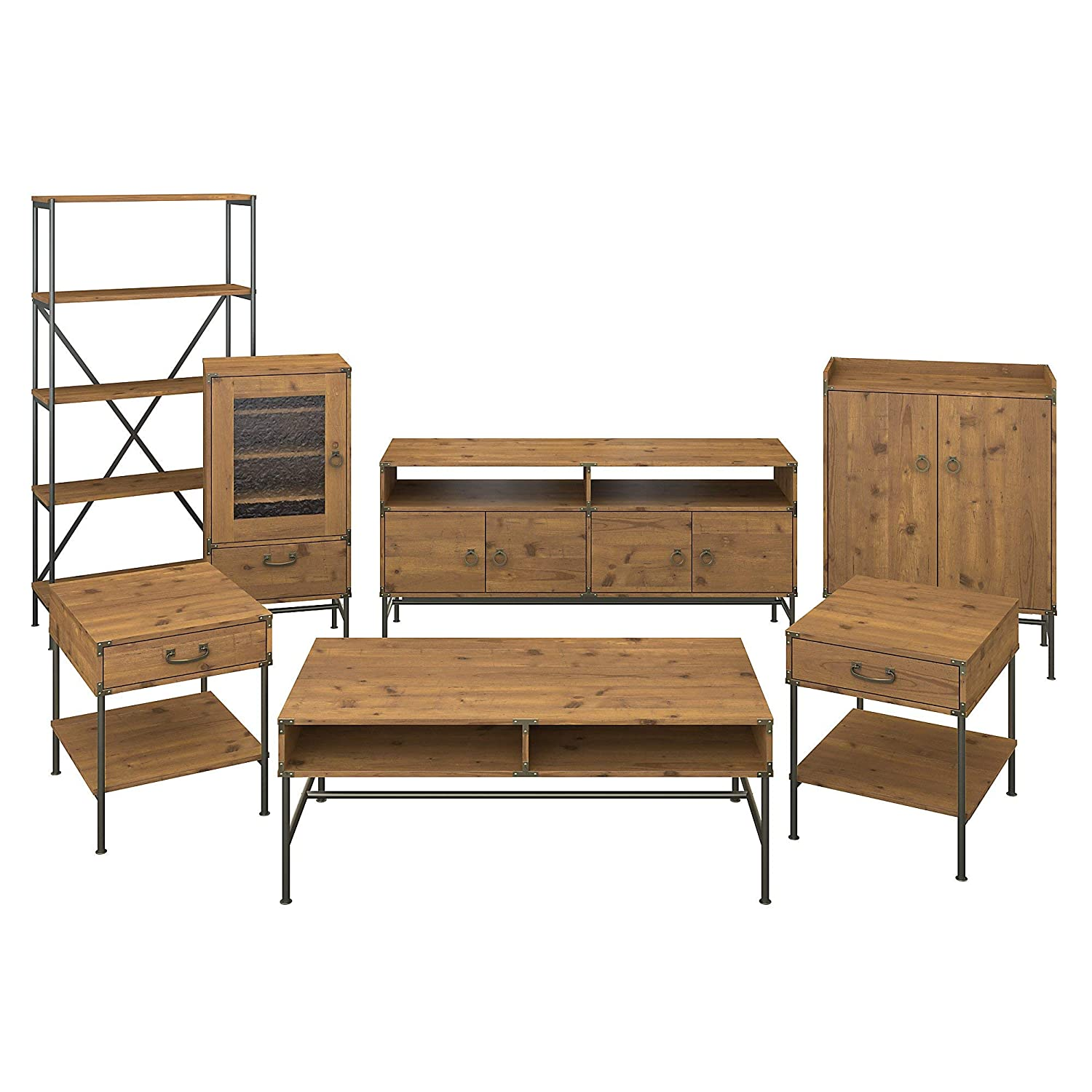 Amazon.com: kathy ireland Home by Bush Furniture Ironworks ...