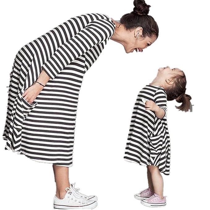 Bekleidung Longra Bekleidung Longra Mama und Kinder Mädchen schwarz ...