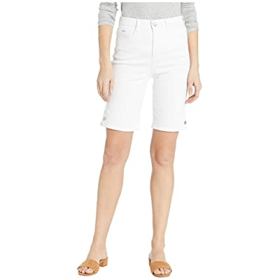 FDJ French Dressing Jeans Soft Hues Denim Suzanne Bermuda in White White 10 at Women's Clothing store