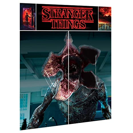 Amazon.com: HTFPS Stranger Things Wall Poster Decorating Kit ...