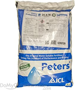 Peters Professional 24-8-16 Foliage Special Fertilizer - 25 Pounds