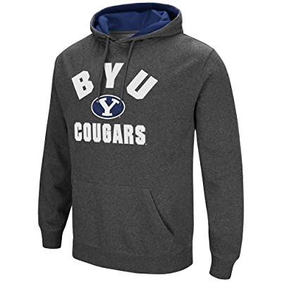 Mens BYU Cougars Pull-over Hoodie