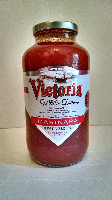 NEW! 40 oz. White Linen Marinara Sauce