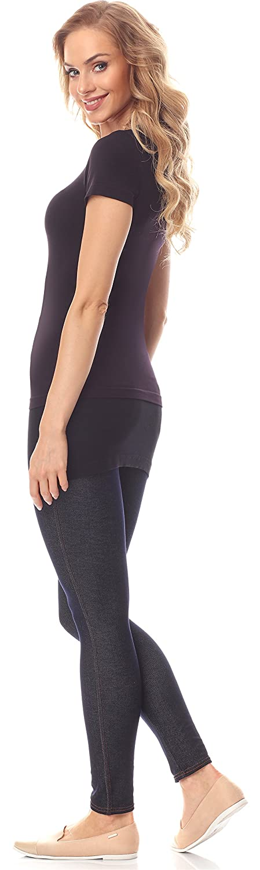 Merry Style Rallonge Extension Ceinture T-shirts Mini Jupe Moulante Femme MS10-202