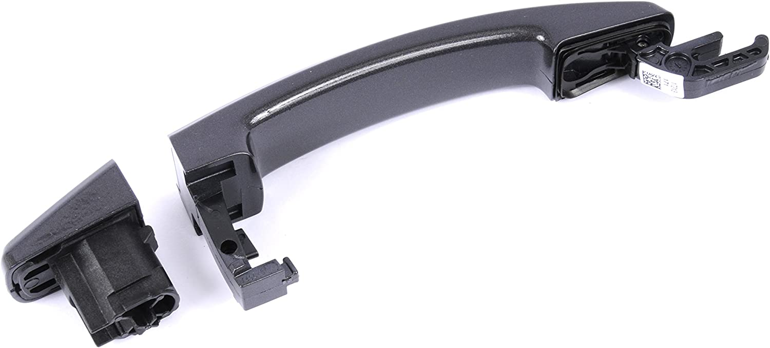 GM Accessories 22817274 Front and Rear Door Handles in Taupe Gray Metallic with Chrome Insert