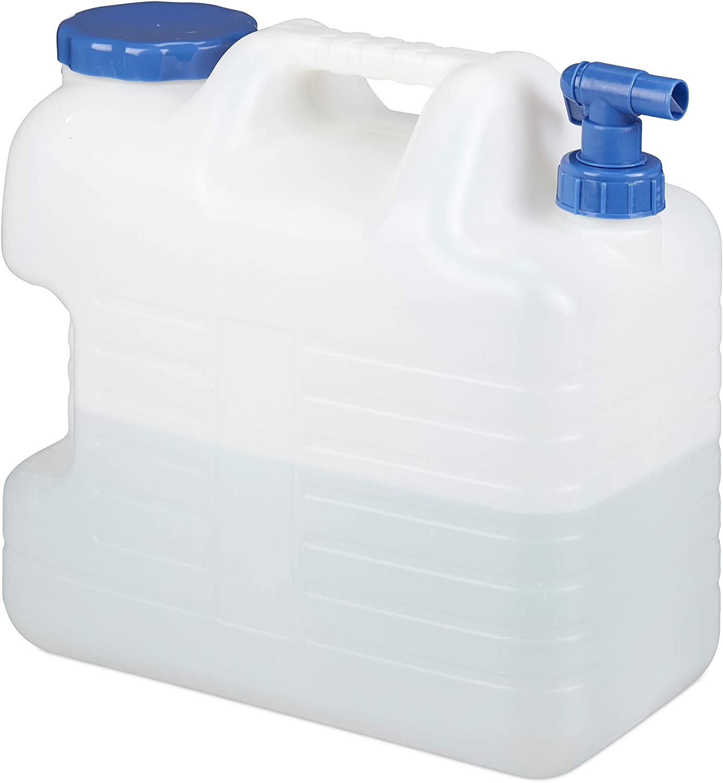 De agua 10l 20l plástico con Hahn bidón trinkwasserkanister