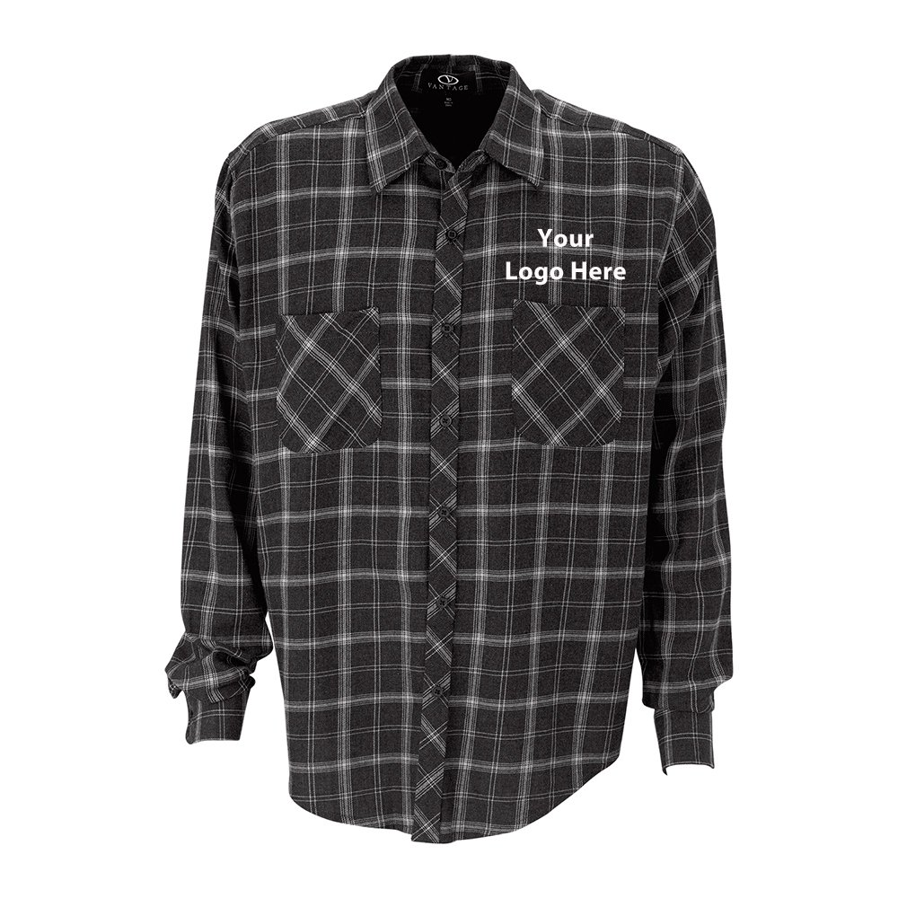 Brewer Flannel Shirt - 12 Quantity - $46.25 Each - BRANDED/CUSTOMIZED