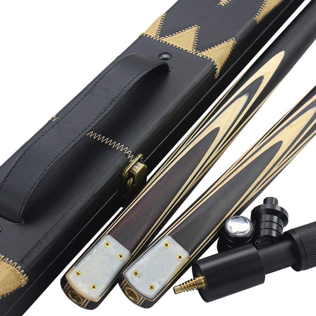 LIAN Billard Club Petite Tête Style Chinois Noir Huit Billard Britannique Set Table Pole (145cm/57.1in Emballage DE 1)