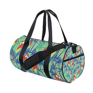 regard détaillé 8bb4b 15de4 COOSUN perroquets Motif sac de voyage à bandoulière pratique ...