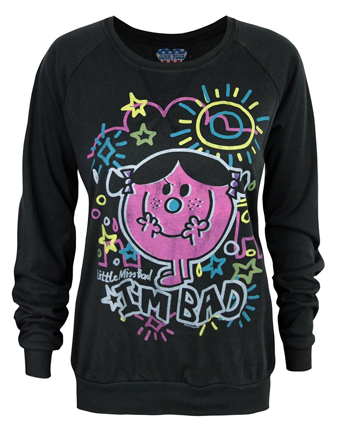 Junk Food Little Miss Bad Women's Sweater (S) Junk Food Clothing