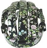 rinproject(リンプロジェクト) カスク Casque フェイクレザーフラワー 黒花柄 L 61cm  [no.4003]