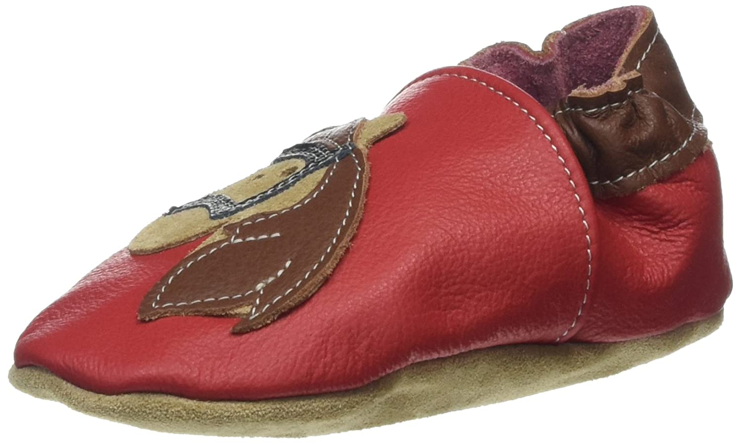 HOBEA Unisex Babies' Horse Birth Shoes (Red) 12-18 Months 20/21 EU 4030