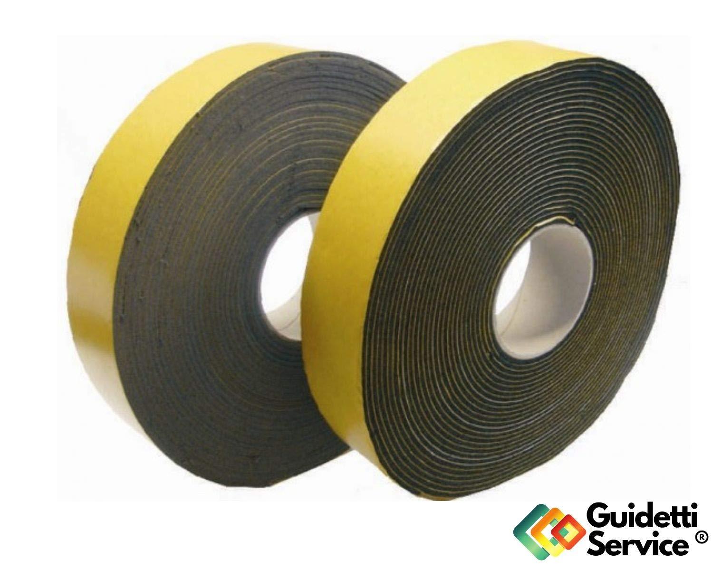 Junta Adhesivo Negro 3/mm Rollo de 10/Mtl de neopreno de Guidetti Service/®