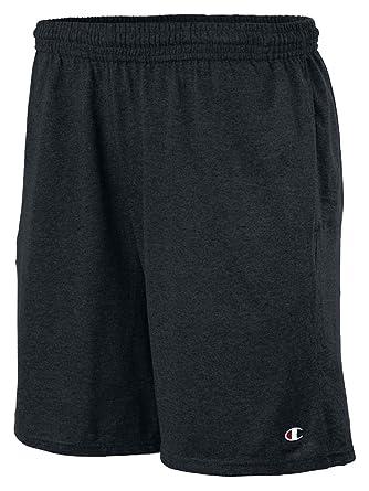 Amazon.com: Champion Authentic Cotton 9-Inch Men's Shorts with ...
