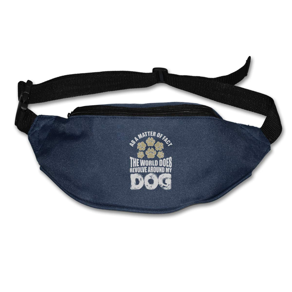 As A Matter Of Fact The World Does Revolve Around My Dog Waist Pack Fanny Pack