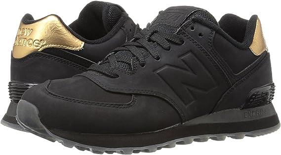 New Balance 574 W Mujer Zapatos de gimnasia Caminar ...