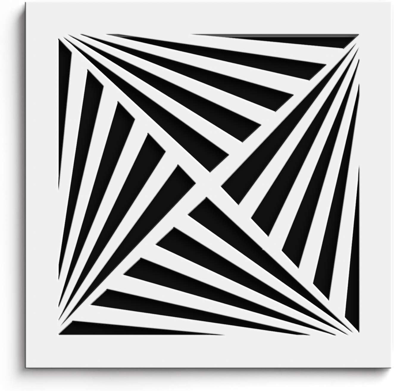 SABA White Air Vent Cover - Acrylic Plexiglass 10