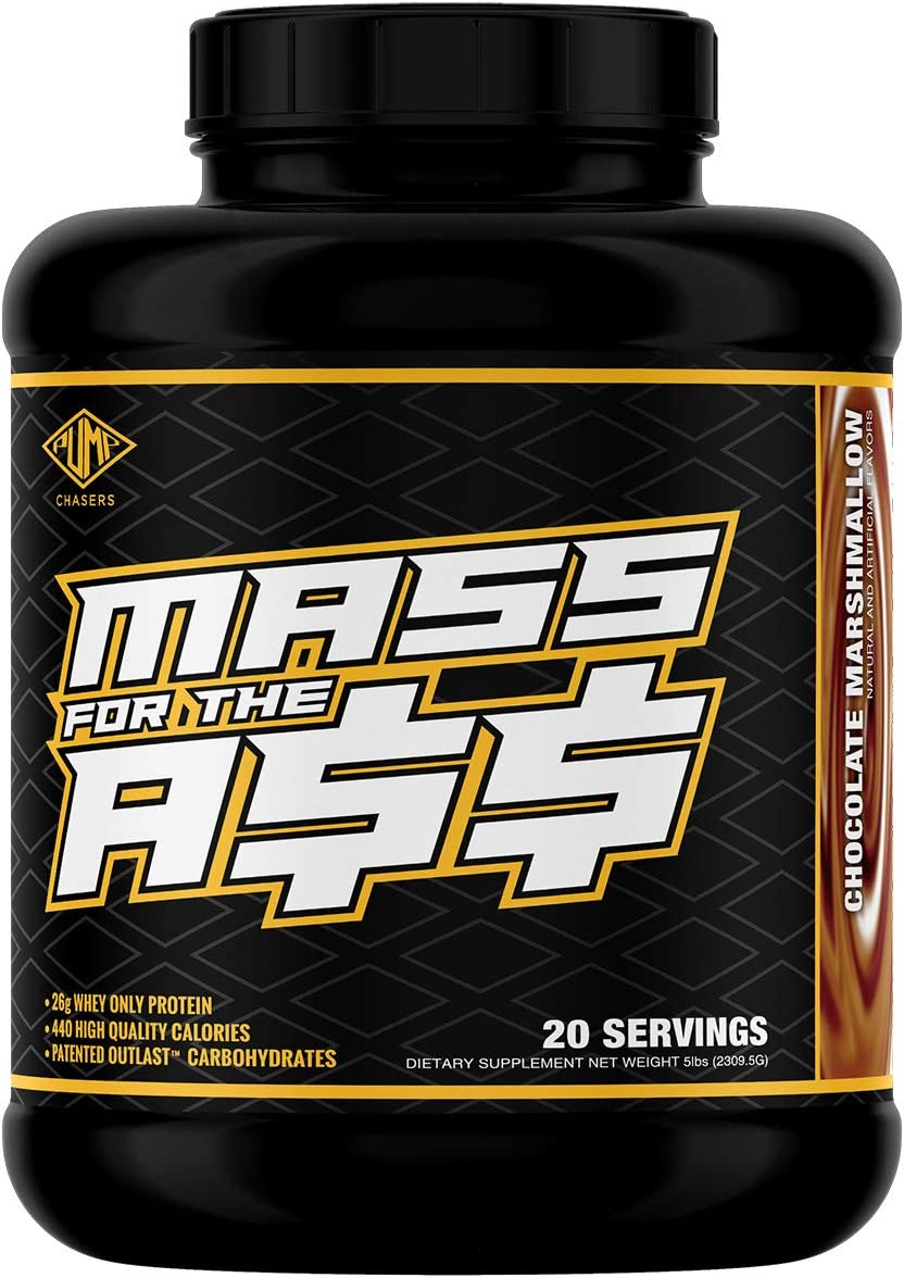 Pump Chasers Mass for The A Weight Gainer – 5lb Chocolate Marshmallow