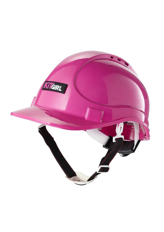 Rose casque de sécurité rigide industriel/par Workkitgirl