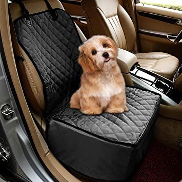 Transporting & Storage MATCC Dog Car Seat Cover Back Seat Cover Waterproof & Scratch Proof & Nonslip Pet Car Seat Protector Dog Travel Hammock Rear Seat Protector Universal Size for All Cars Truck SUV Automotive
