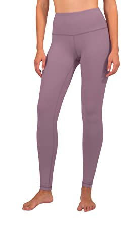 f3bdc968f8a2d 90 Degree By Reflex High Waist Squat Proof Interlink Leggings for Women -  Chocolate Plum -