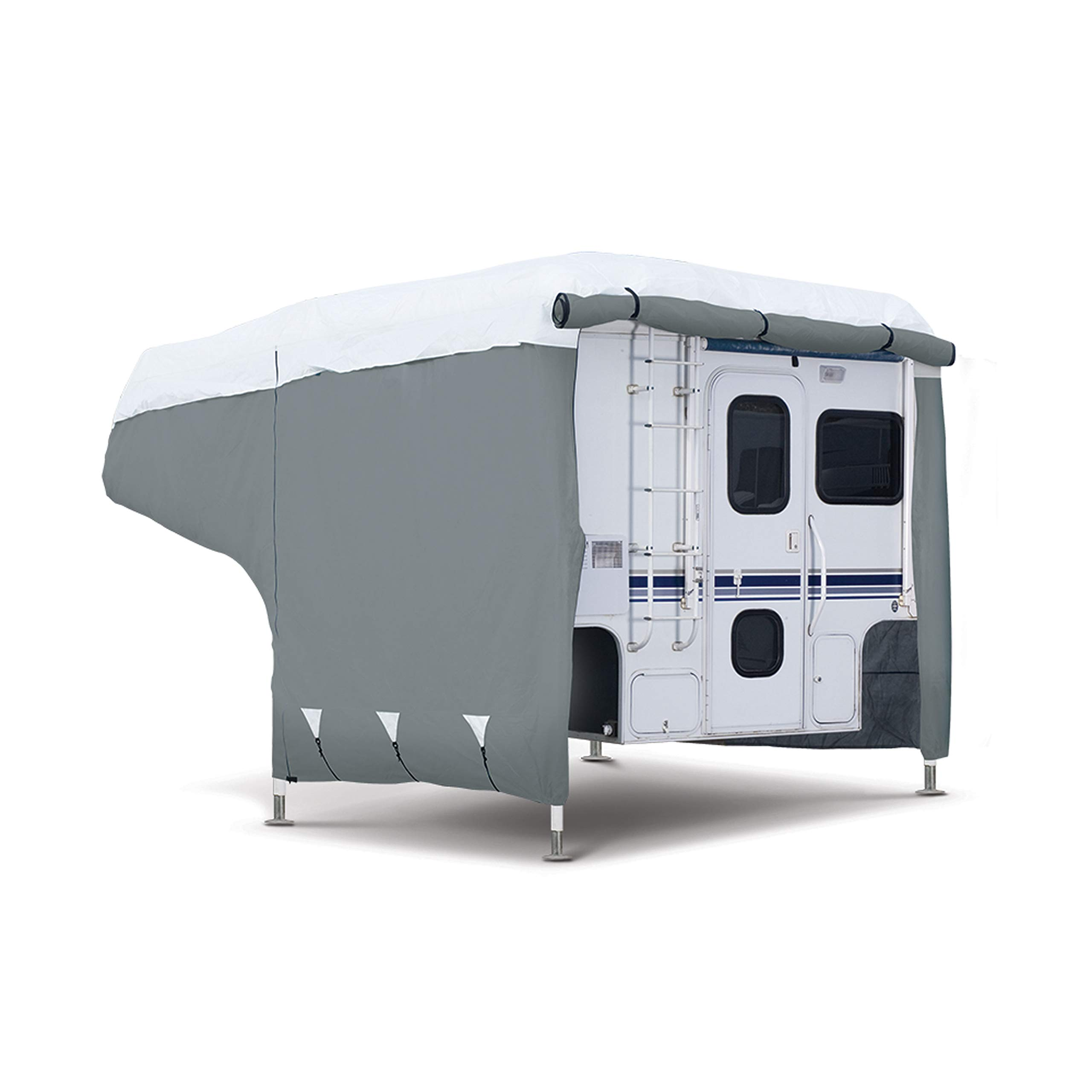 Classic Accessories PolyPro 3 RV Cover For 6-8' Campers Truck Camper Cover by Classic Accessories (Image #1)