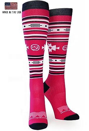 9ef45d0d29 Amazon.com: Crazy Compression OTC Aztec Compression Socks: Clothing