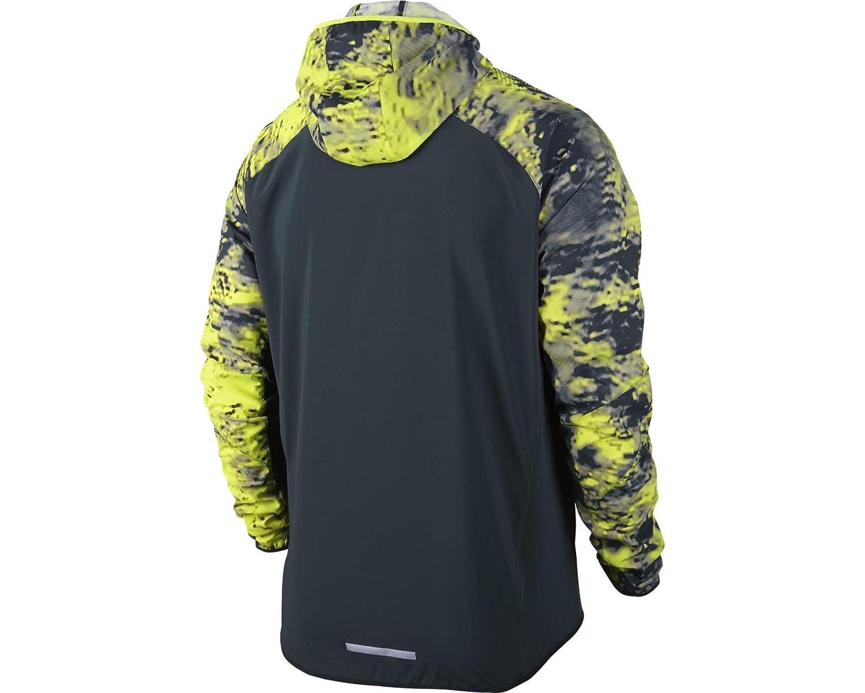 Amazon.com: Nike Printed Trail Kiger Full-Zip – Chaqueta de ...