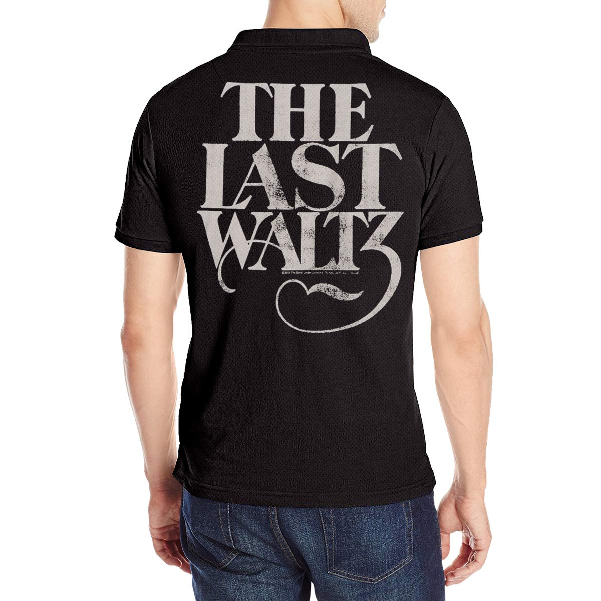 Mens The Last Waltz Classic Summer Short Sleeves Polo T Shirts