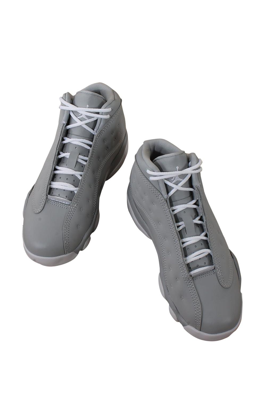 6f8ec42b706 Amazon.com | Jordan 439669-018 Preschool 13 Retro GP Wolf Grey Pink |  Basketball